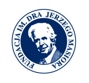 Logo granatowe Fundacja im. dra Jerzego Masiora