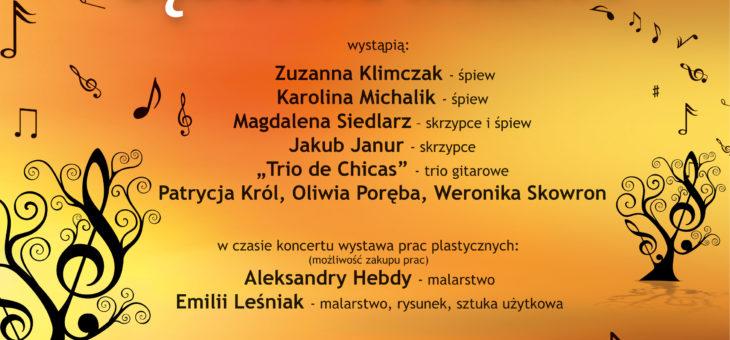 """Zaproszenie – XXIV Koncert w Wirydarzu z cyklu """"Sądeckie Talenty"""""""